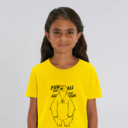 T-shirt grizzy enfant fun for all jaune fille