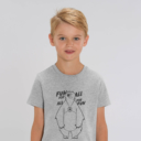 T-shirt grizzy enfant fun for all garçon gris
