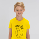 T-shirt grizzy enfant fun for all garçon jaune