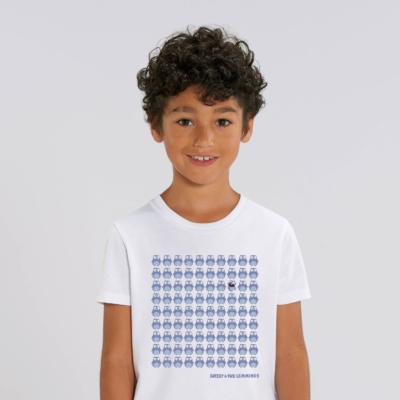 Tshirt enfant blanc 90 lemmings garcon