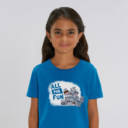 T-shirt enfant bleu Lemming