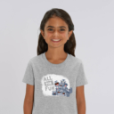 T-shirt enfant gris Lemming