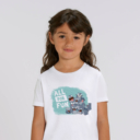 T-shirt enfant blanc Lemming