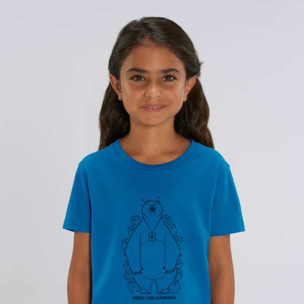 tshirt adult hide and seek girl blue