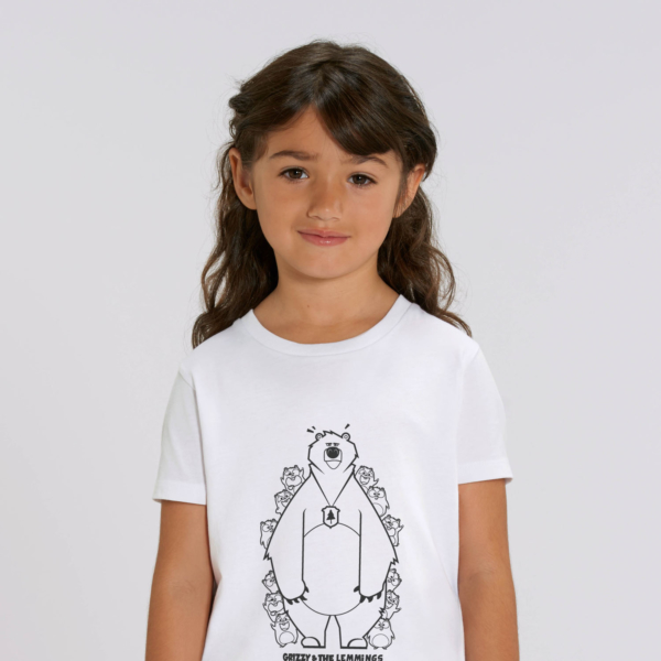 tshirt adult hide and seek girl white