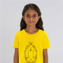 tshirt adult hide and seek girl yellow