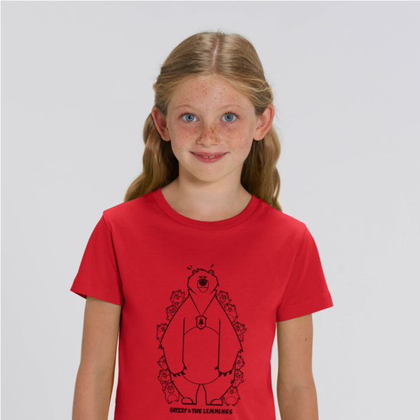 tshirt adult hide and seek girl red