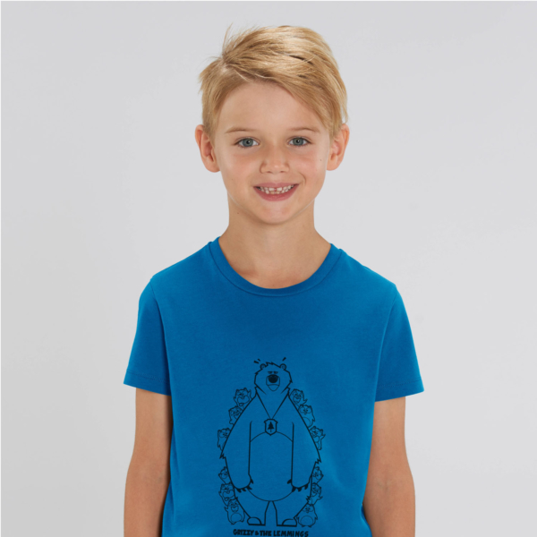 tshirt adult hide and seek boy blue