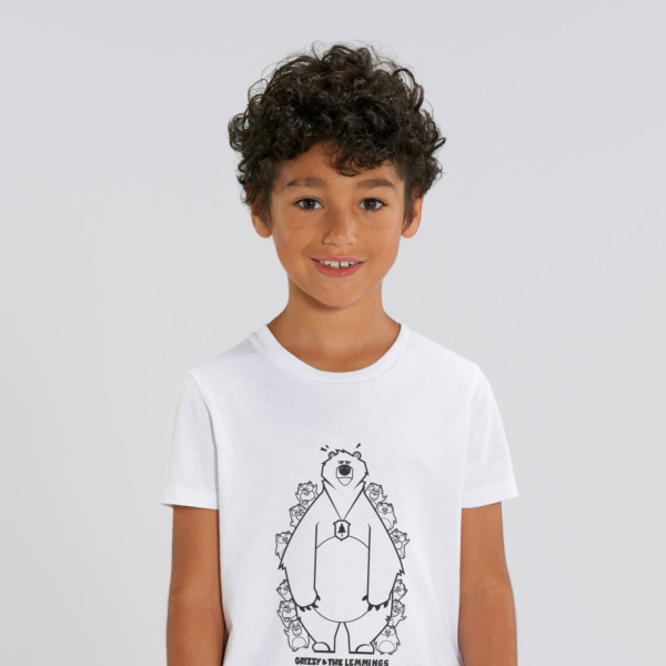 tshirt adult hide and seek boy white