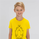 tshirt adult hide and seek boy yellow