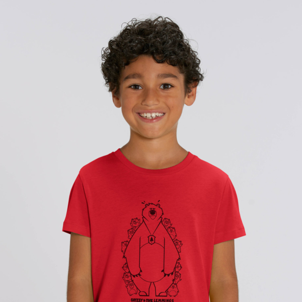 tshirt adult hide and seek boy red