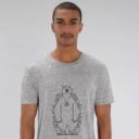t-shirt gris adulte cache cache filaire grizzy et les lemmings homme