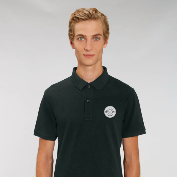 Adult Polo badge black
