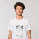 T-shirt grizzy adulte fun for all homme blanc