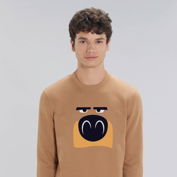 Sweat camel adulte tête de grizzy grizzy et les lemmings homme