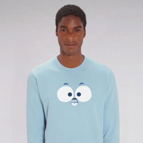 adult sweatshirt lemming man