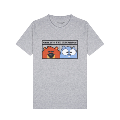 T-shirt Grizzy et les Lemmings-11